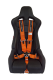 Cipher Auto Orange 5 Point Camlock Racing Harness - Single - CPA4005OR - Image 2