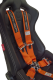 Cipher Auto Orange 5 Point Camlock Racing Harness - Single - CPA4005OR - Image 3