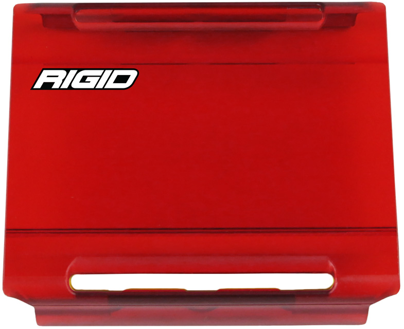 4 Inch Light Cover Red E-Series Pro RIGID Industries - 104953