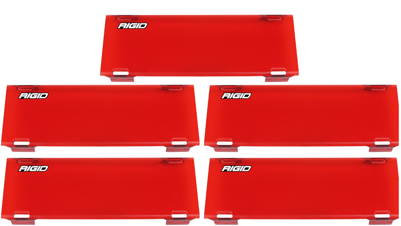 54 Inch Light Cover Red RDS-Series Pro RIGID Industries - 105653