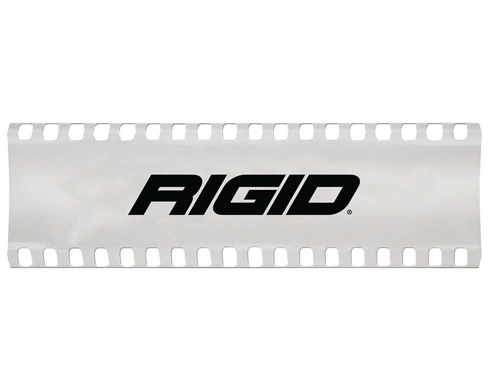 6 Inch Light Cover White with Logo SR-Series Pro RIGID Industries - 105853