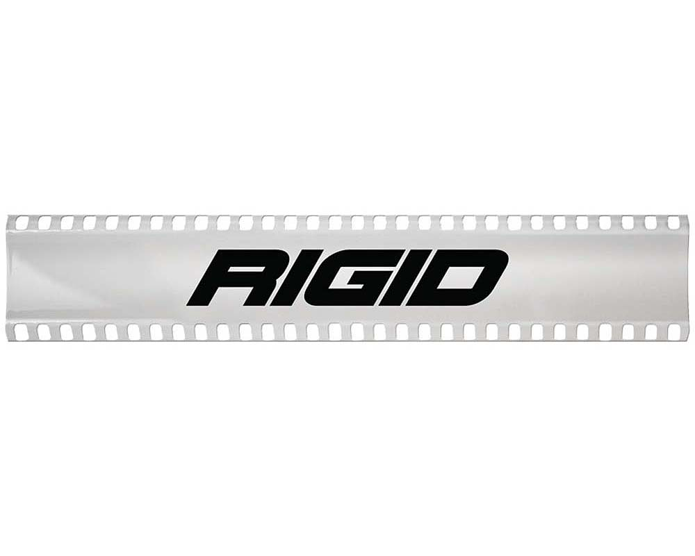10 Inch Light Cover White with Logo SR-Series Pro RIGID Industries - 105953