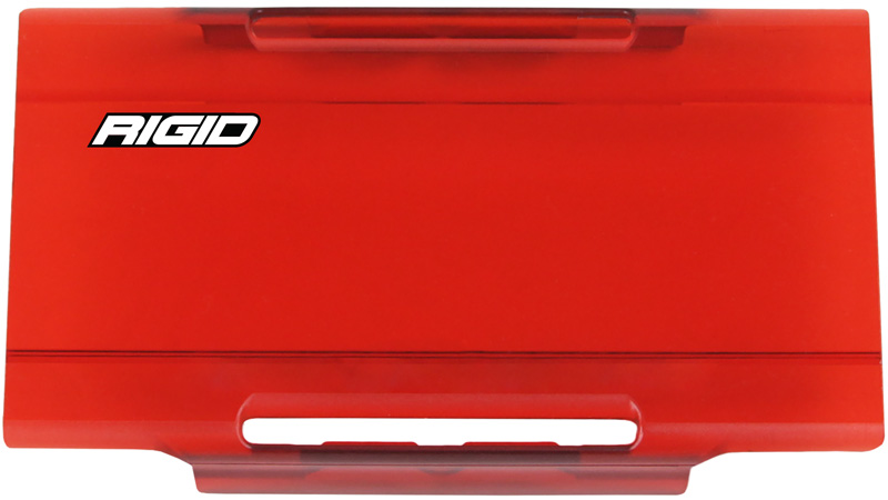 6 Inch Light Cover Red E-Series Pro RIGID Industries - 106953