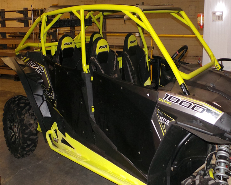 Houser Racing Lime Squeeze 4 Seater Roll Cage Polaris RZR XP1000 14-16 - 143301-62
