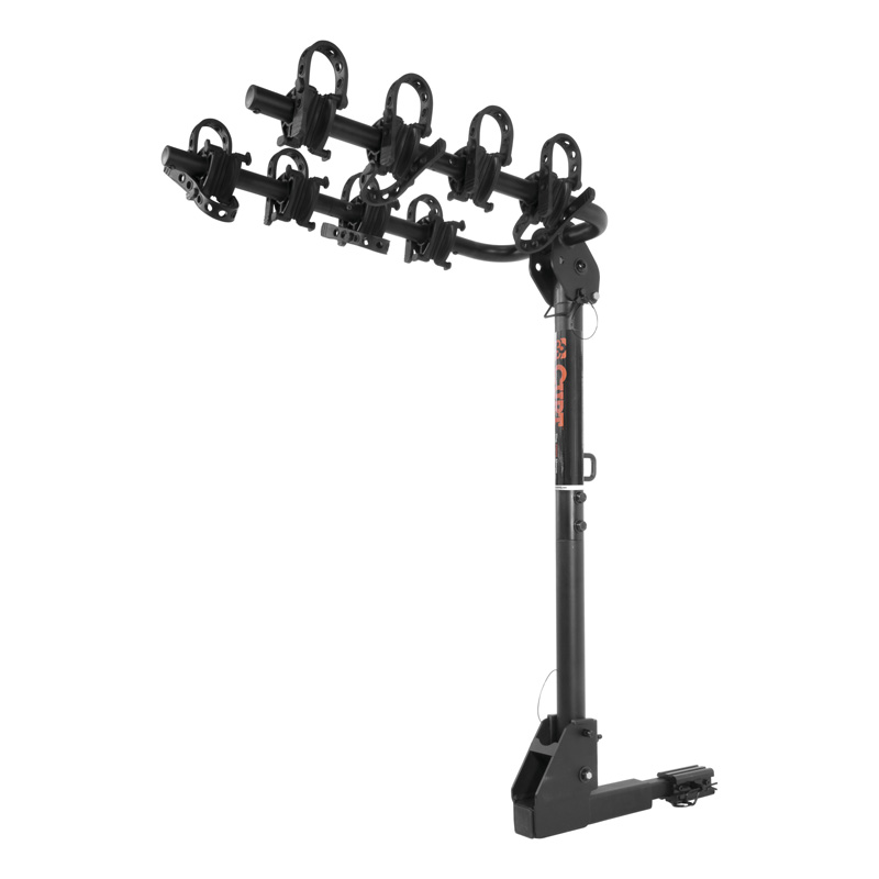 "Curt Extendable Hitch-Mounted Bike Rack (2 or 4 Bikes, 1-1/4"" or 2"" Shank) - 18030"