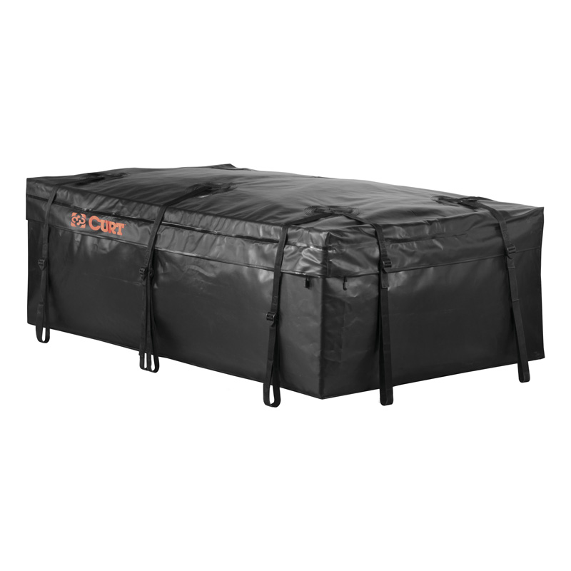 "Curt 59"" x 34"" x 21"" Extended Roof Rack Cargo Bag - 18221"
