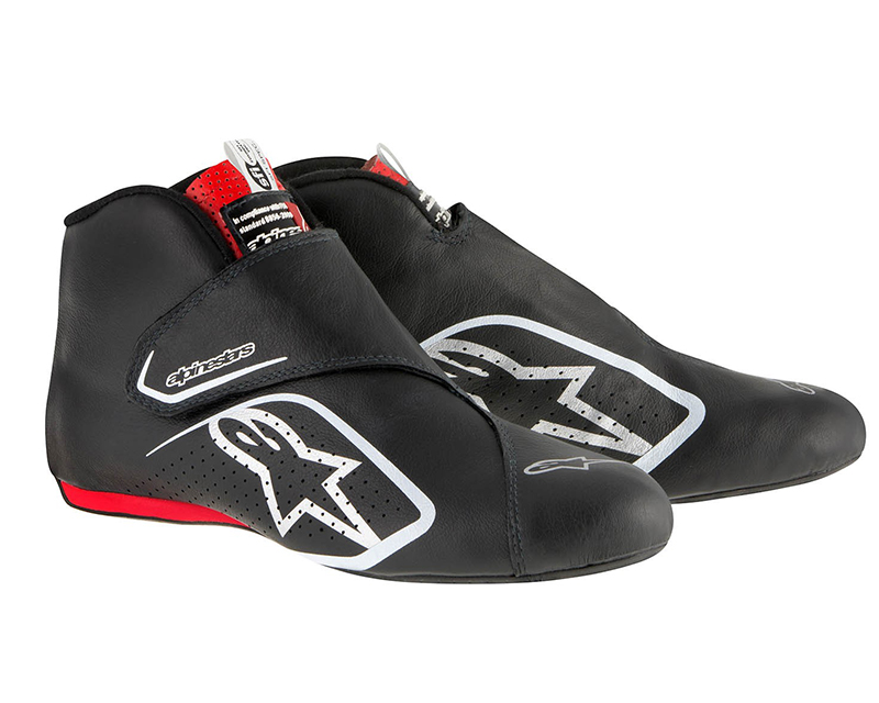 Alpinestars Black and Red Supermono Racing Shoes EU 42 | US 9 - 2716115-13B-9