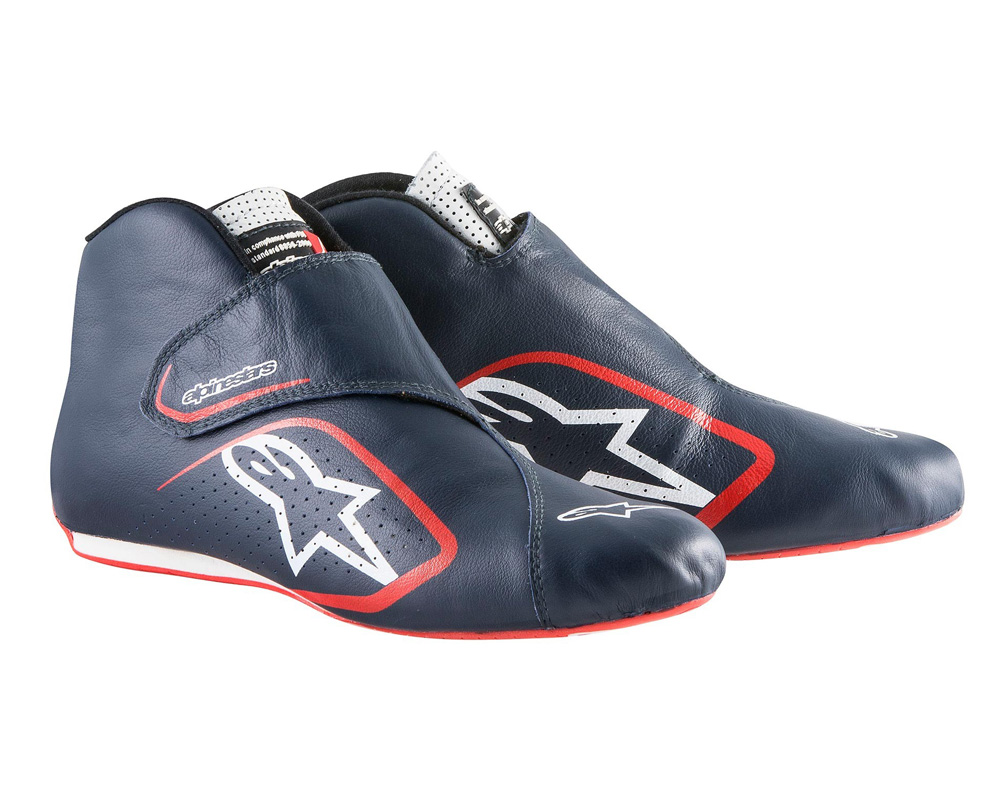 Alpinestars Navy Supermono Racing Shoes EU 43.5 | US 10.5 - 2716115-718-10.5