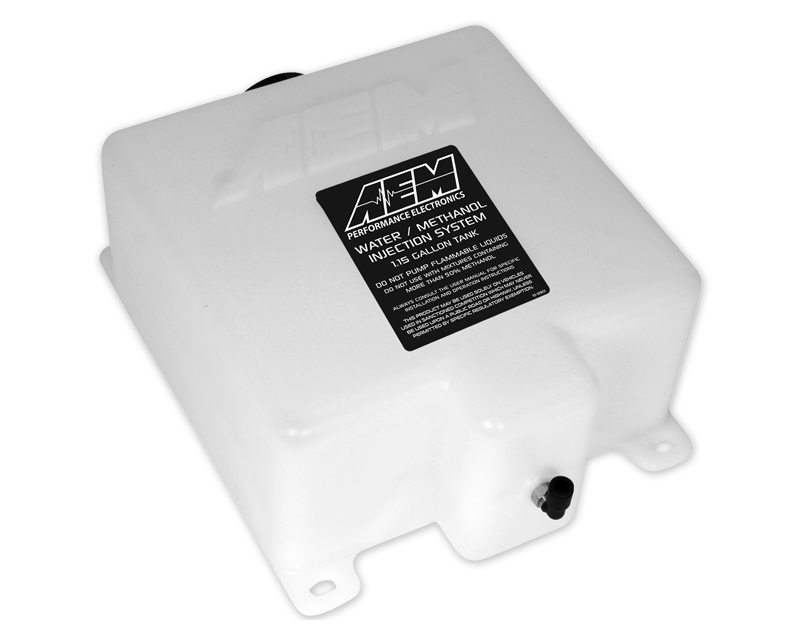 AEM Electronics Methanol Injection 1.5 Gallon Tank Kit Universal - 30-3325