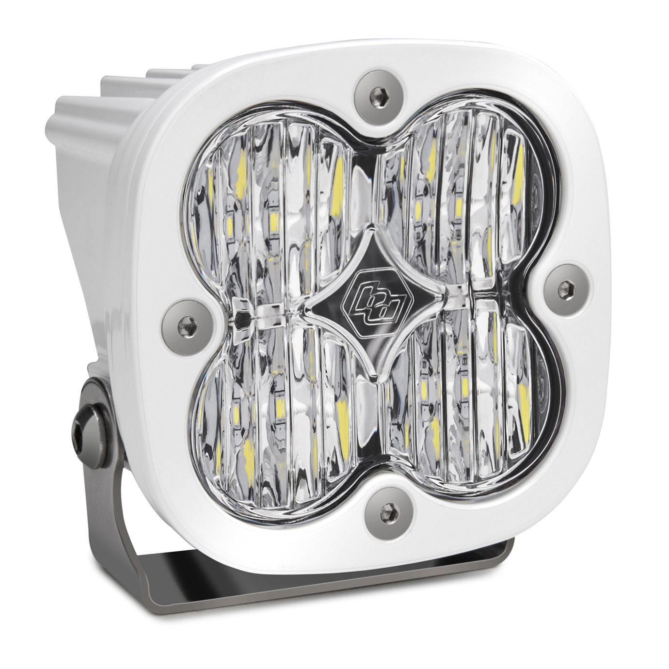 Baja Designs LED Light Pod Wide Cornering Pattern Clear White Squadron Sport - 550005WT