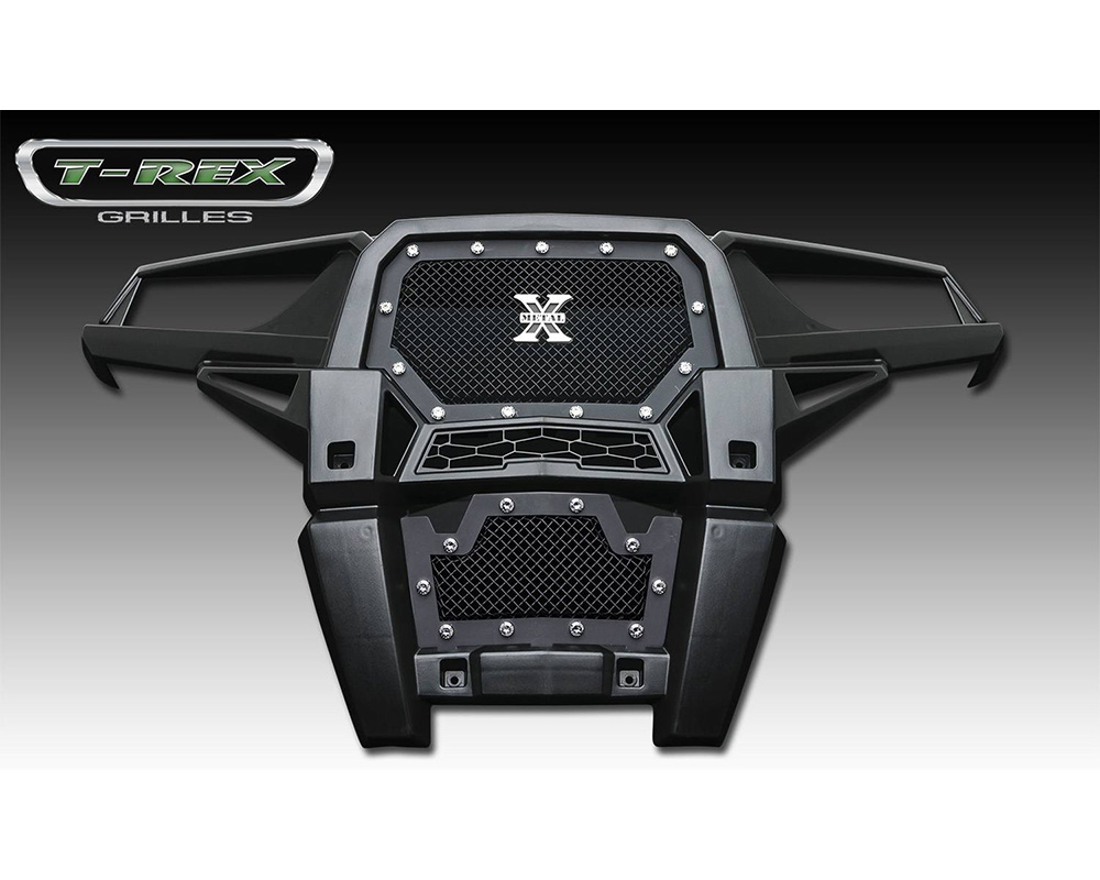 2014 Polaris RZR XP 1000 Stealth X-Metal Grille, Black, 1 Pc, Insert, Black Studs - PN #6719011-BR - 6719011-BR