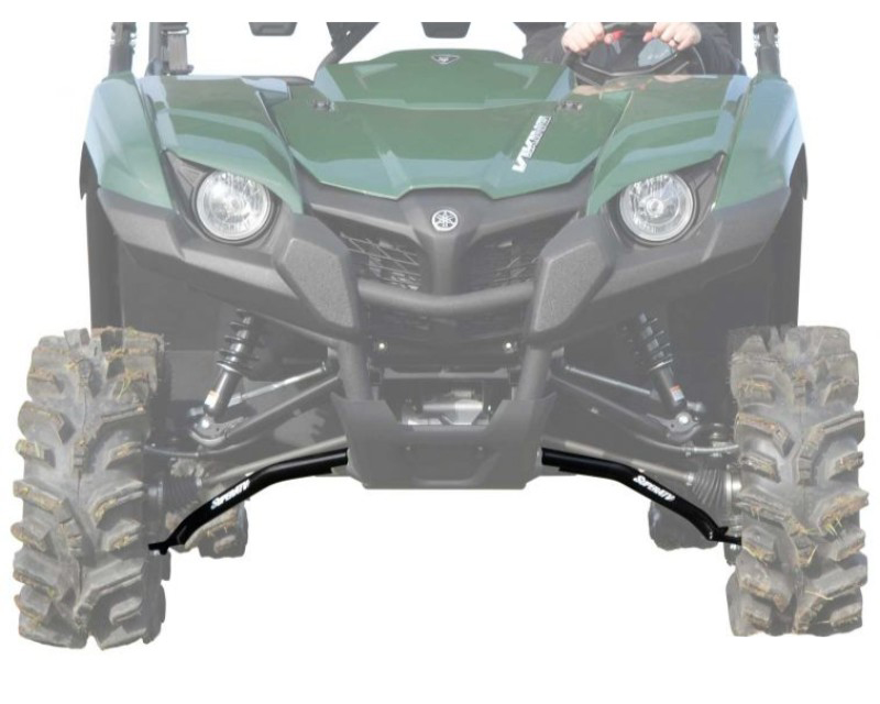 SuperATV High Clearance Front A Arms Black Yamaha Viking 2014+ - AA-Y-V-HC-02