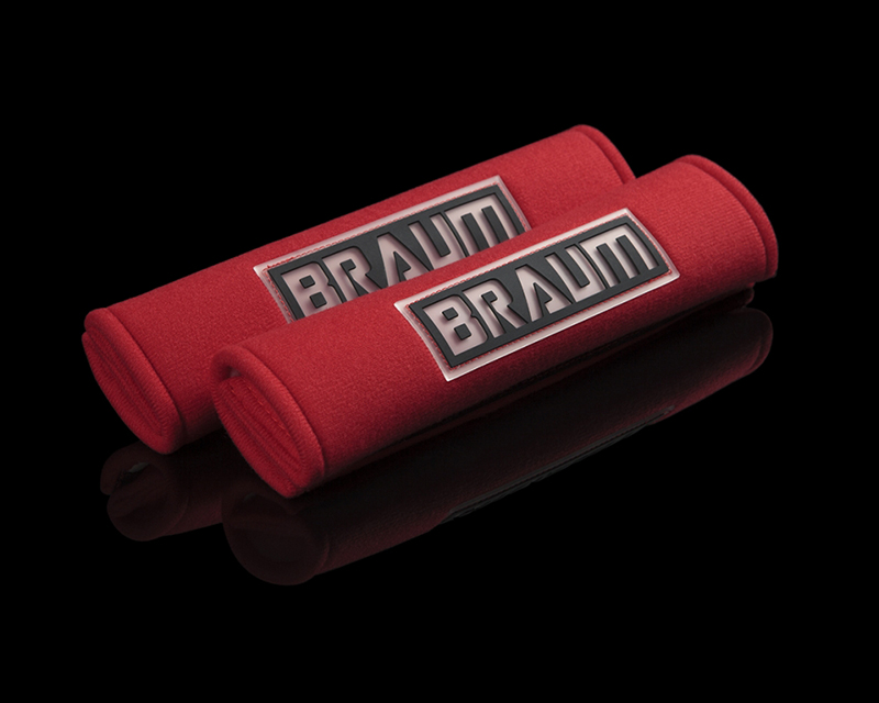 "Braum Racing Red 2"" Shoulder Pads - BRHP-2RED"