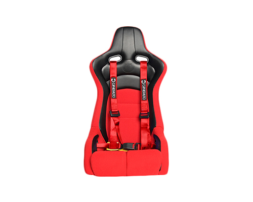 Cipher Auto Red 4 Point Racing Harness Set - Pair - CPA4002RD