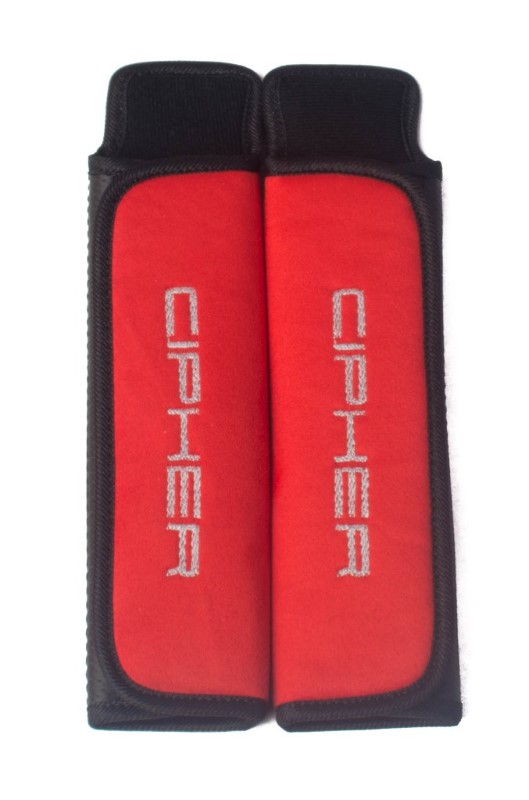 "Cipher Auto Red 2"" Inches Harness Pads - Set - CPA8000RHP-RD"