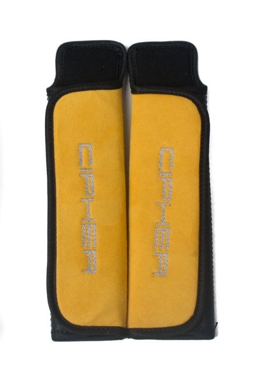 """Cipher Auto Yellow 3"""" Inches Harness Pads - Set - CPA8001RHP-YL"""