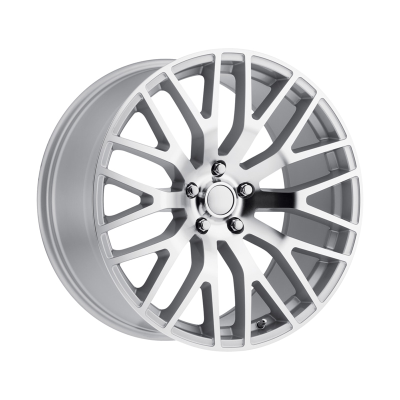 Wheel Replicas Mustang Performance Silver Machined Face Wheel - PER 995-5114-53 SMF