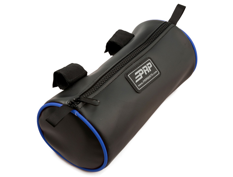 Buggy Bag Black With Blue Piping Vinyl Coated Nylon PRP Seats - E13-I