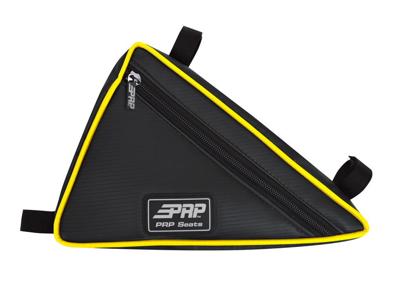 Triangle Bag for Yamaha YXZ Yellow Trim PRP Seats - E51-H
