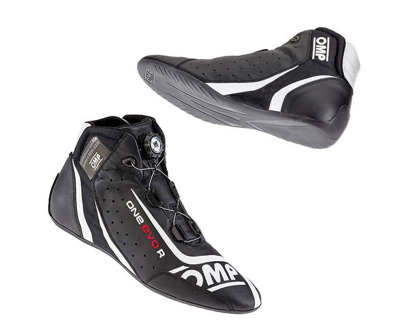 OMP Racing Black One Evo-R Racing Shoes US 10.5/11 | EU 44 - IC/80507144
