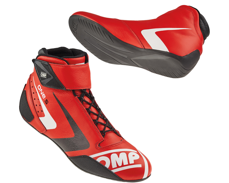 OMP Racing Red One-S Evo Racing Shoes US 7.5/9 | EU 42 - IC/80706142