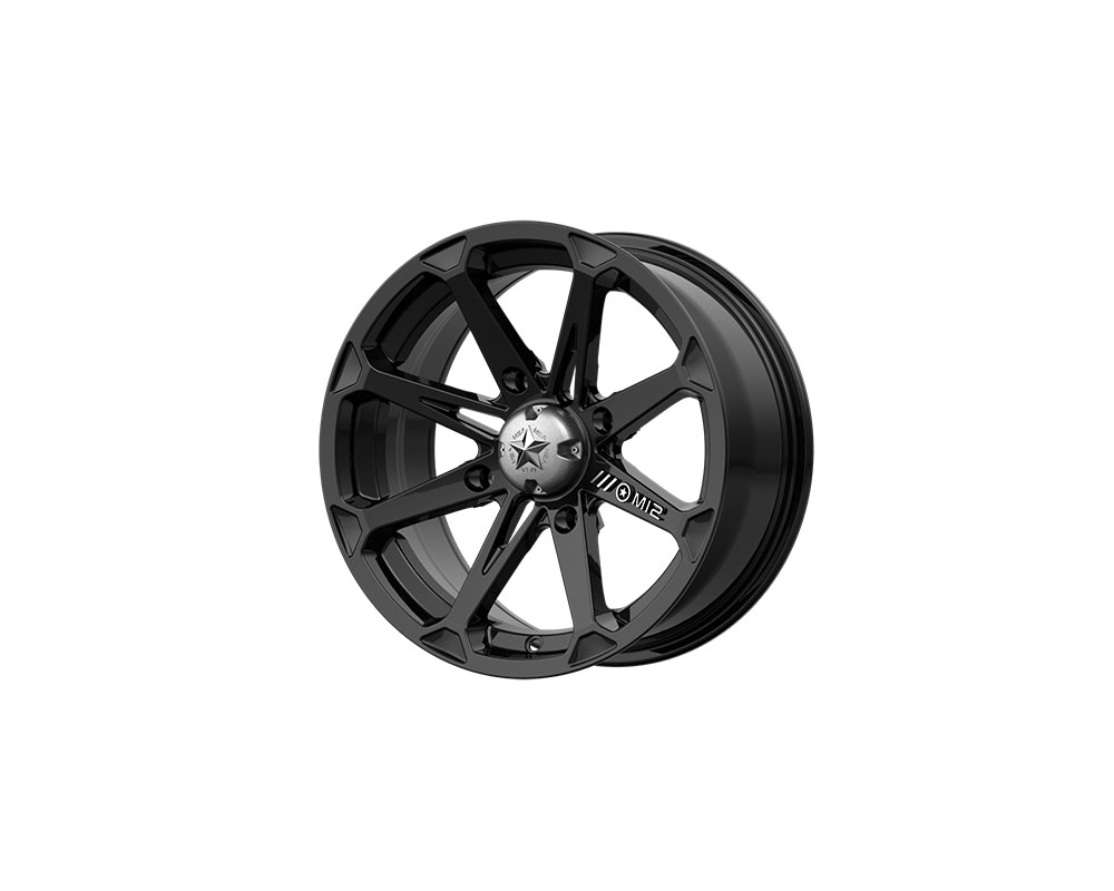 MSA Offroad Wheels M12 Diesel Wheel 14x7 4x4x156 -47mm Gloss Black - M12-14756