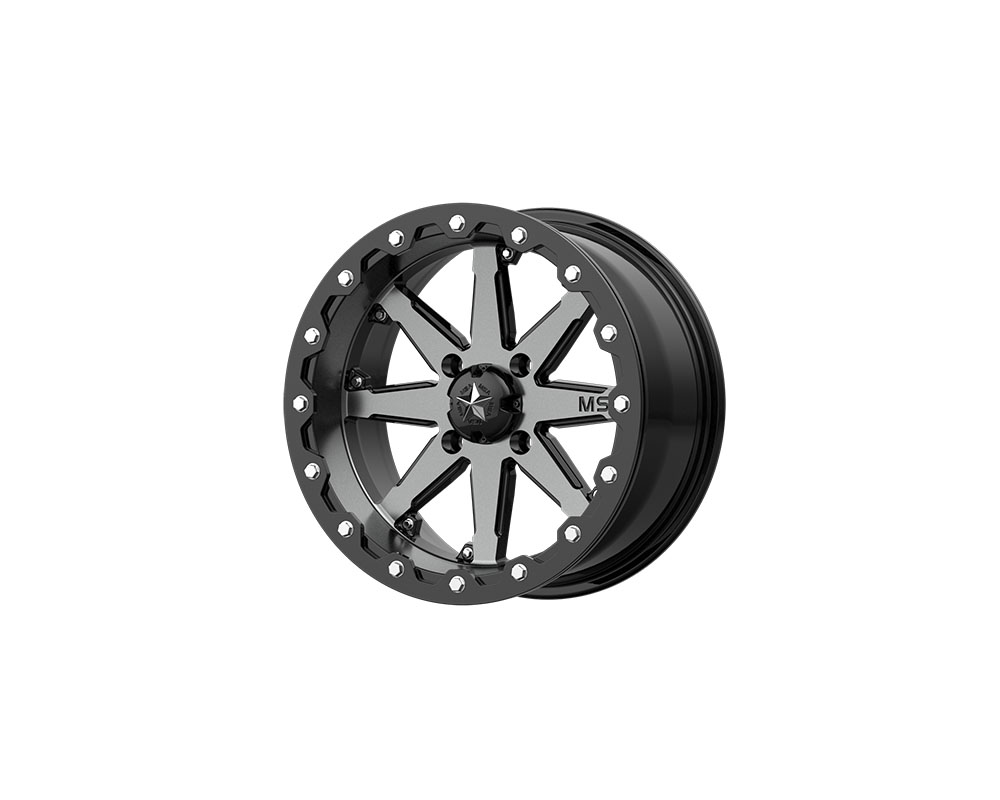 MSA Offroad M21 LOK Wheel 14x10 4x4x137 -10mm Charcoal Tint - M21-04037