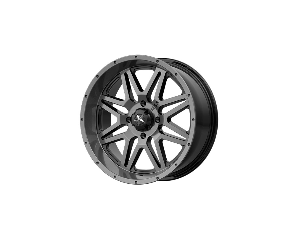 MSA Offroad Wheels M26 Vibe Wheel 14x7 4x4x156 +0mm Dark Tint - M26-04756
