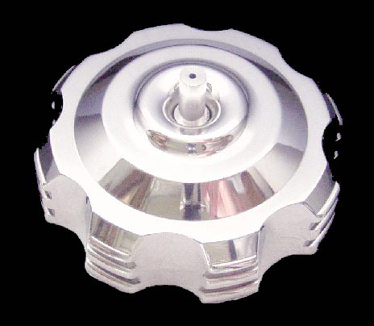 ModQuad Gas Cap - Billet Steps - GC1-6R