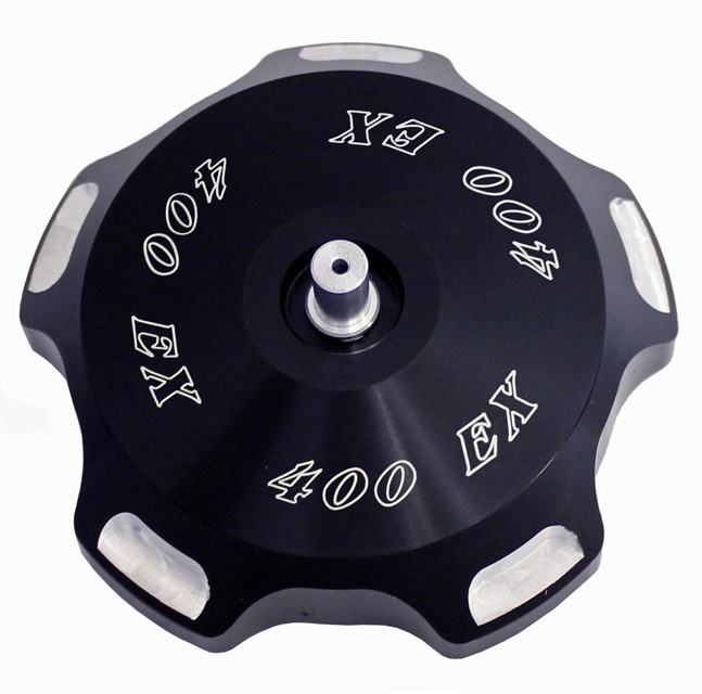 ModQuad Gas Cap - Black w/Logo - GC2-XBLK