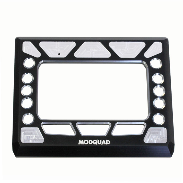 ModQuad Digital Dash Gauge Bezel - RZR-BEZ-D-BLK