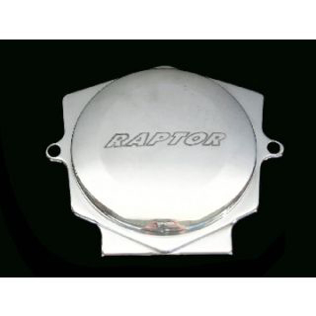 ModQuad Timing Chain Cover - Billet w/Logo - TCC1-R