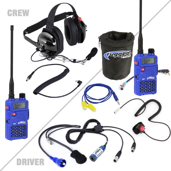 Rugged Radios Offroad Short Course System with Rugged RH5R Dual Band Radios - OFFROAD-5R