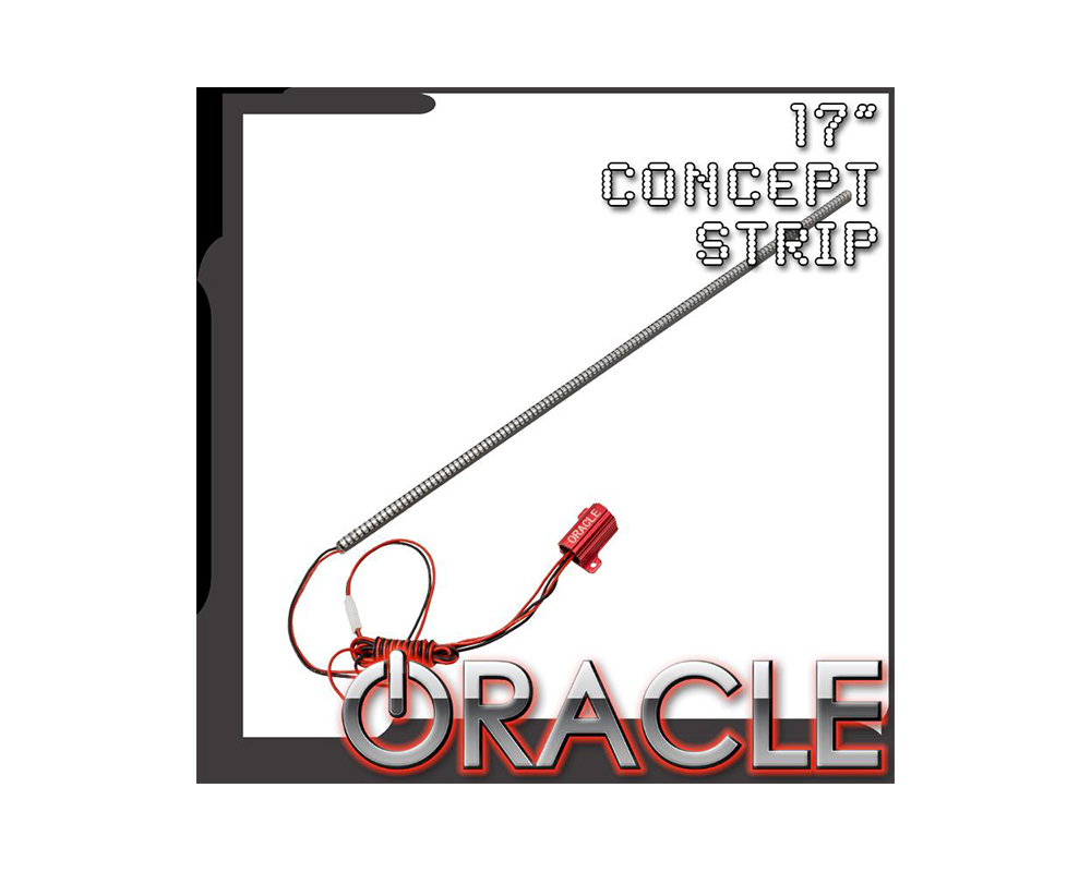 "Oracle Lighting 17"" Waterproof Red Concept LED Strip - Single - 4513-003"