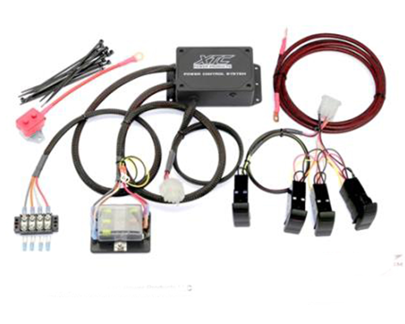 XTC Power Products Plug and Play 4 Switch Power Control System Can-Am Maverick - PCS-44-MAV