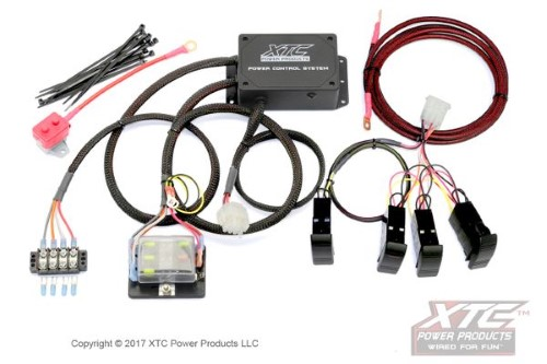 XTC Power Products Plug & Play 4 Switch Power Control System w/o Switch Yamaha YXZ - PCS-44-YXZ-NS