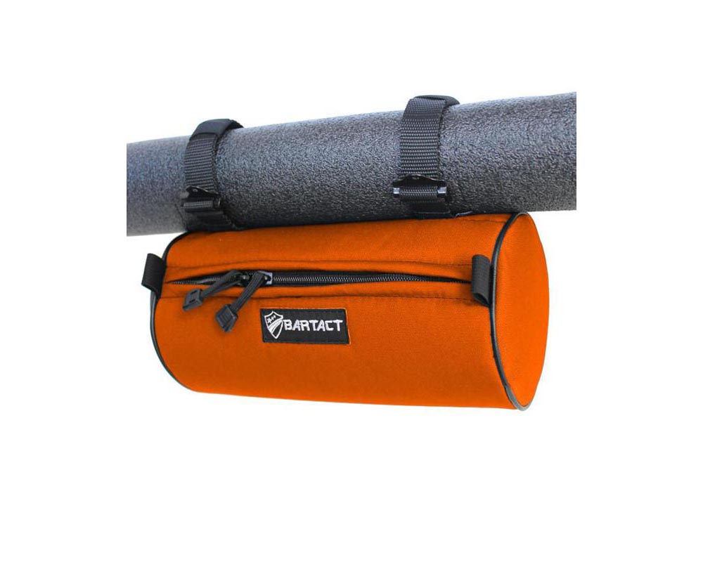 "Bartact 12""x6"" Orange Large Roll Bar Barrel Bag - RBIA1206BN"