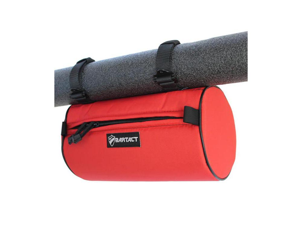 """Bartact Bag 12""""x6"""" Red Large Roll Bar Barrel - RBIA1206BR"""