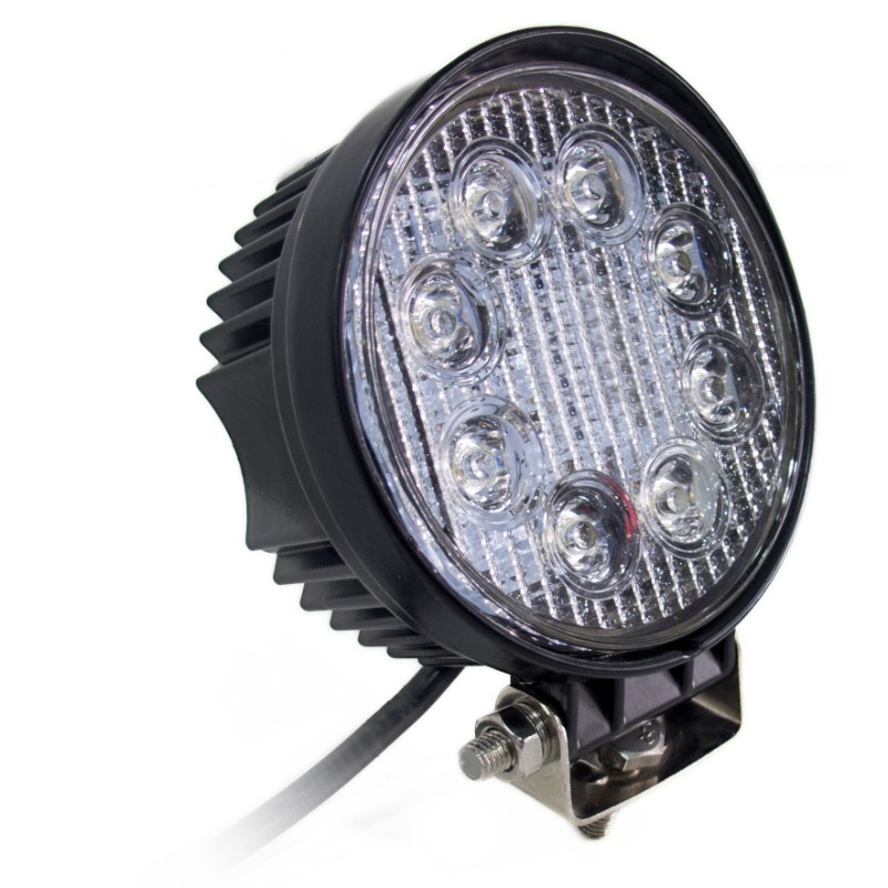 Race Sport Lighting LED Work Spot Light Street Series Round 4 Inch 24 Watts 1,560 Lumens - RS-24W-R