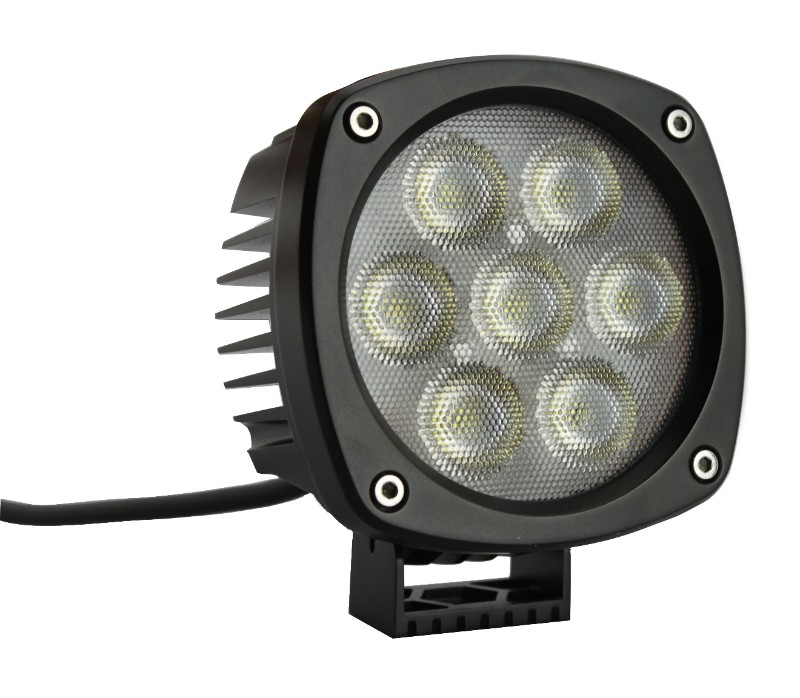 Race Sport Lighting CREE LED Spot Light Single Round Professional Grade HD Series 4.3 Inch - RS-4CREE-35W