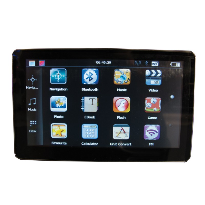 Race Sport Lighting GPS Portable Navigation Unit 7.0 Inch - RS-GPS-7