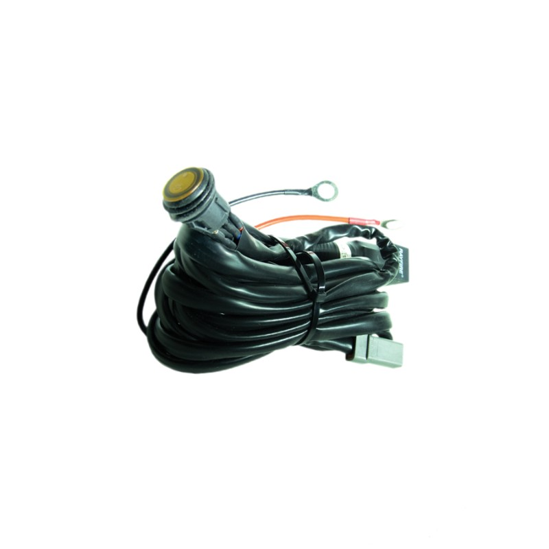 Race Sport Lighting  Relay Harness with Switch for HD Light Bars - RS-HD-R40-50