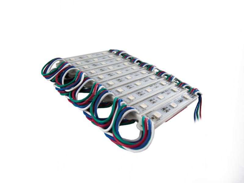 Race Sport Lighting Multi-Color 20-Module LED Pod Strip Light Kit 9 Feet - RS-POD5050-9FT-RGB
