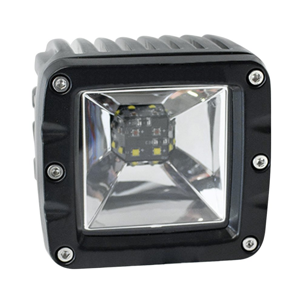 Race Sport Lighting White and Red 2-Function LED Cube style Back light - RS12KR