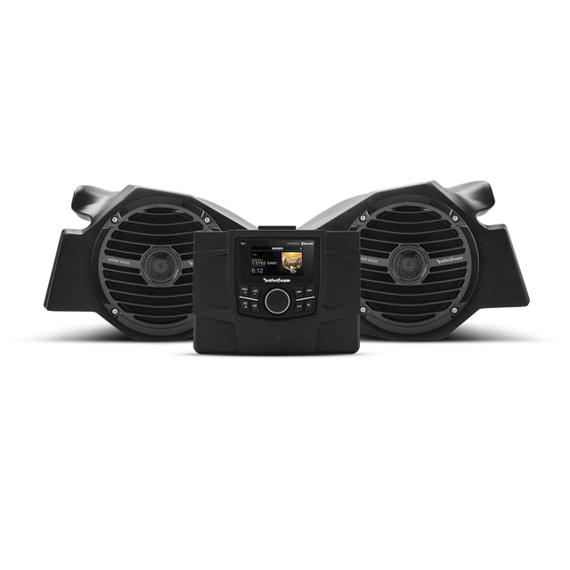 Rockford Fosgate Stage 2 Stereo | Front Speaker Kit Polaris RZR Models - RZR-STAGE2