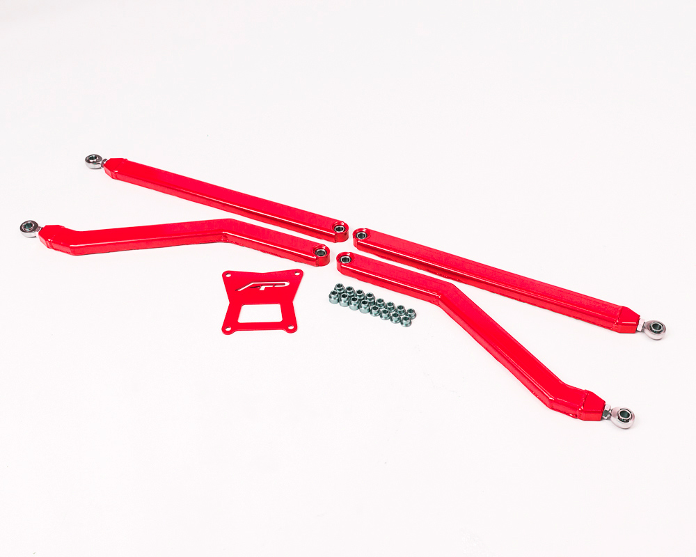 Agency Power Unbreakable High Clearance Rear Arms Red Polaris RZR 1000 | RS1 | XP Turbo | RS1 | RS1 - AP-RZR-201R