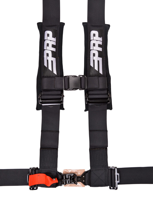 3 Inch 4 Point Harness Black PRP Seats - SB4.3
