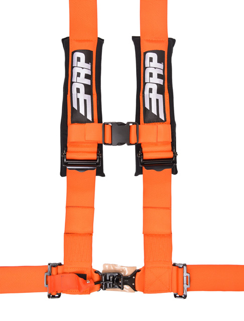 3 Inch 4 Point Harness Orange PRP Seats - SB4.3O