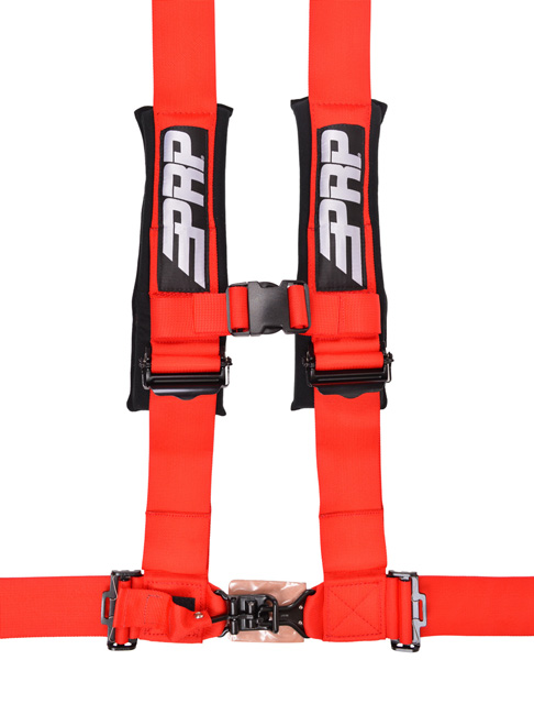 3 Inch 4 Point Harness Red PRP Seats - SB4.3R