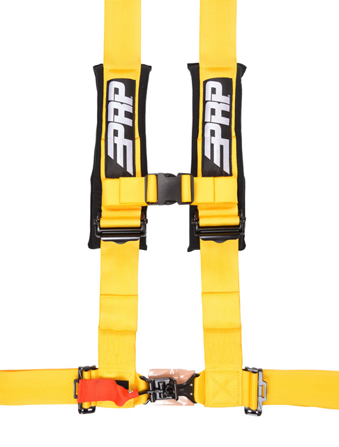 3 Inch 4 Point Harness Yellow PRP Seats - SB4.3Y